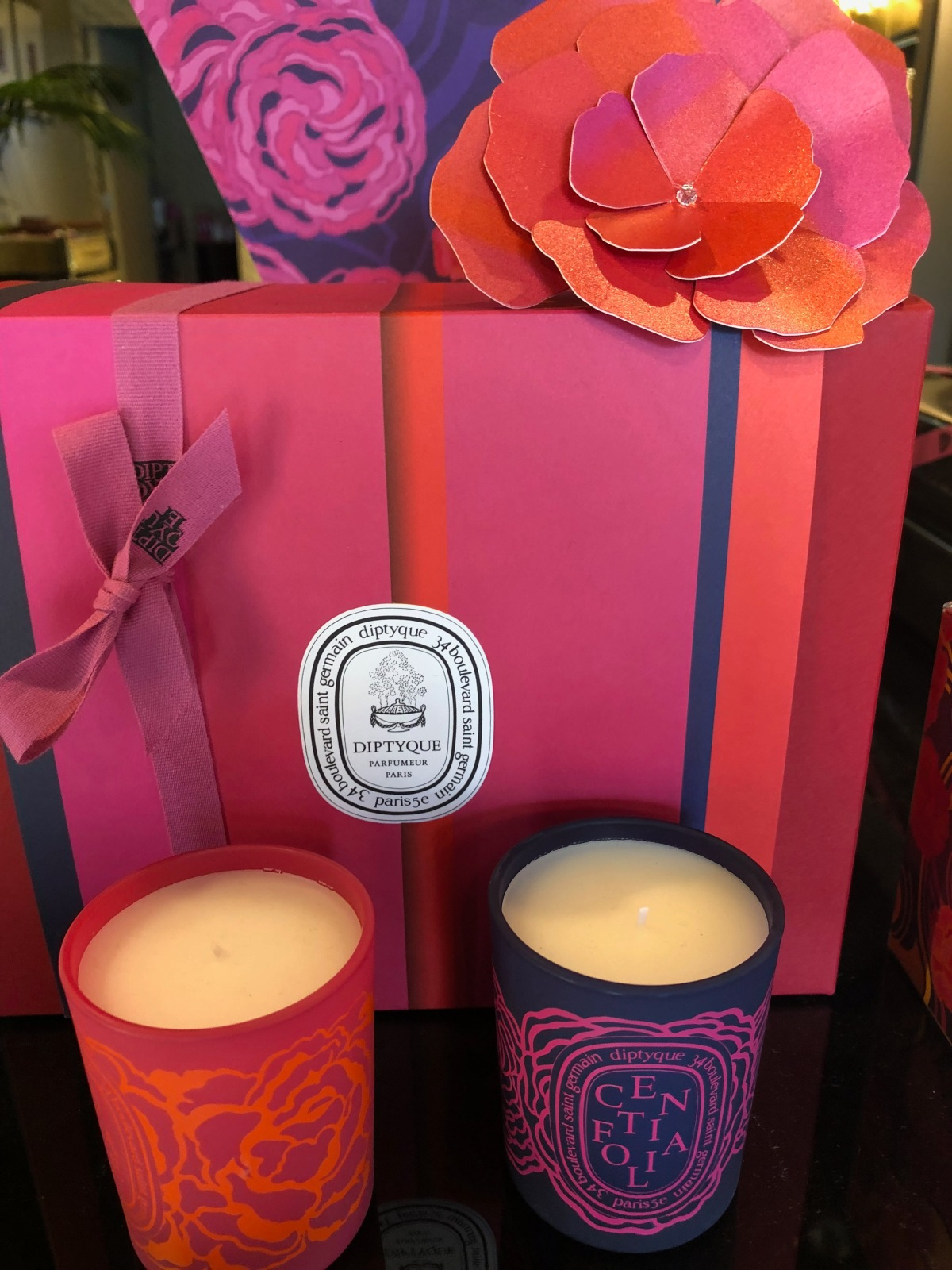 Rose Intense Limited Edition Collection:  Romance is in the Air at DIPTYQUE